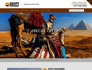 egypt-uncovered.com screenshot