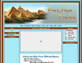 egyptianclicks.com screenshot