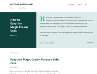 egyptianmagiccream.biz screenshot