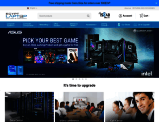 egyptlaptop.com screenshot