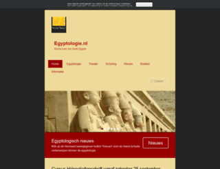 egyptologie.nl screenshot