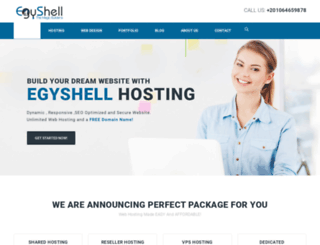 egyshellhosting.com screenshot