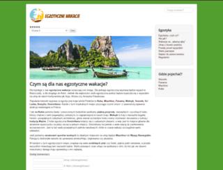egzotycznie.com.pl screenshot