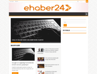 ehaber24.com screenshot