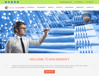 ehawebsoft.com screenshot