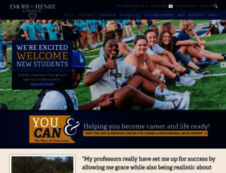 ehc.edu screenshot