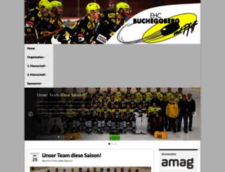 ehcbucheggberg.ch screenshot