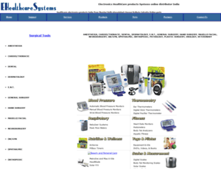 ehealthcaresystems.com screenshot