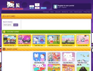 ehellokittygames.com screenshot
