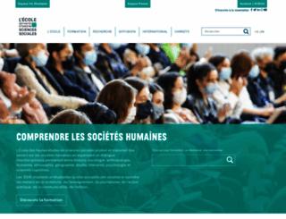 ehess.fr screenshot