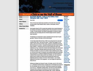 ehhelicopternoise.com screenshot