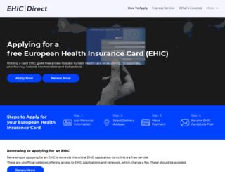 ehicdirect.org.uk screenshot