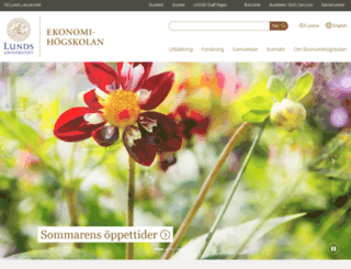 ehl.lu.se screenshot