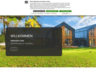 ehlers-versicherungen.de screenshot