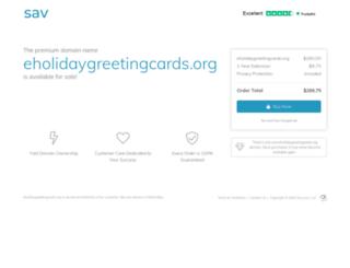eholidaygreetingcards.org screenshot