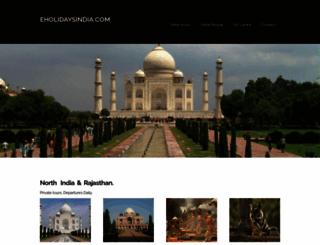 eholidaysindia.com screenshot