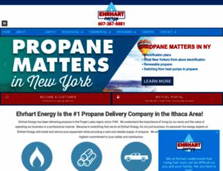 ehrhartpropane.com screenshot