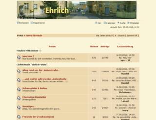 ehrlichforum.iphpbb3.com screenshot