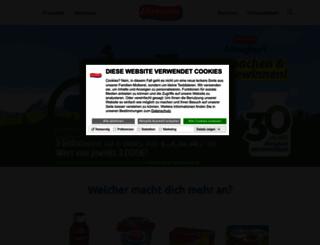 ehrmann.de screenshot