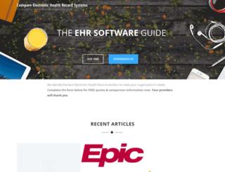 ehrsoftware.us screenshot