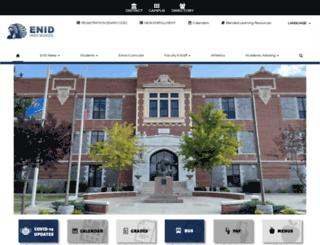 ehs.enidpublicschools.org screenshot