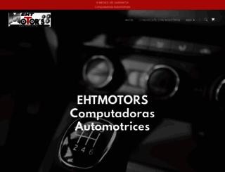 ehtmotors.com.mx screenshot