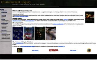 ei.cornell.edu screenshot