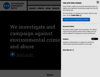 eia-international.org screenshot