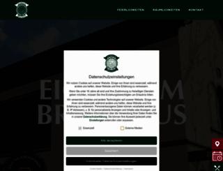 eichbaumbrauhaus.de screenshot