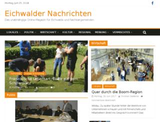 eichwalder-nachrichten.de screenshot