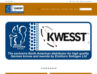 eickhorn-solingen.com screenshot