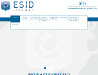 eidiomas.com screenshot