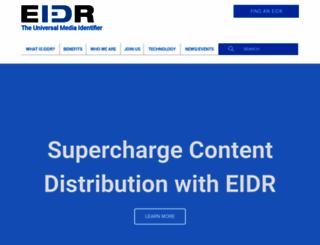 eidr.org screenshot