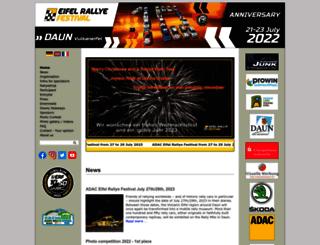 eifel-rallye-festival.de screenshot