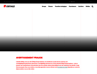 eiffage.com screenshot
