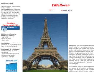 eiffeltoren.net screenshot