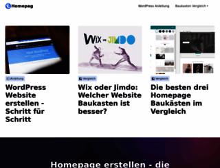eigene-homepage.net screenshot