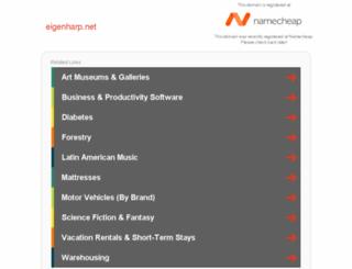 eigenharp.net screenshot