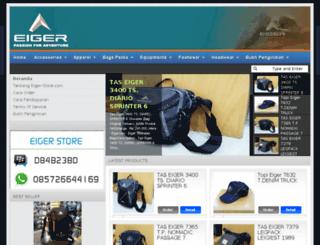eiger-store.com screenshot