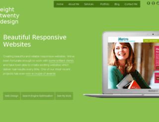 eighttwentydesign.com screenshot