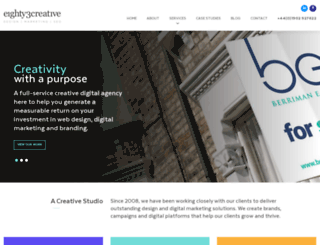 eighty3creative.co.uk screenshot