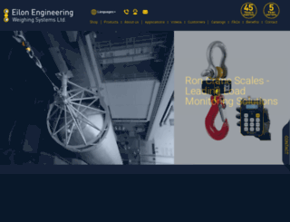 eilon-engineering.com screenshot
