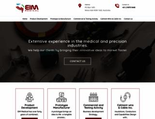 eimmedical.com screenshot