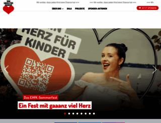 ein-herz-fuer-kinder.de screenshot