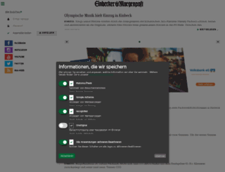 einbecker-morgenpost.de screenshot