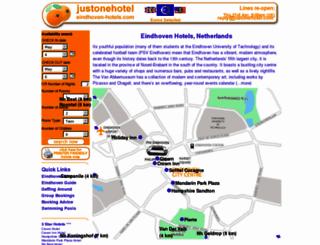 eindhoven-hotels.com screenshot