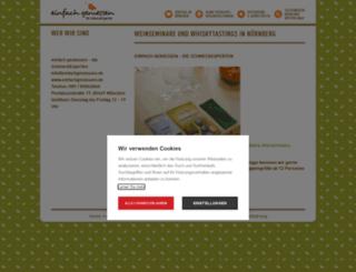 einfachgeniessen-nuernberg.de screenshot