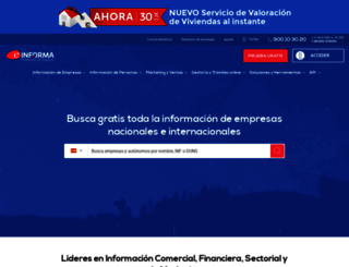 einforma.com screenshot