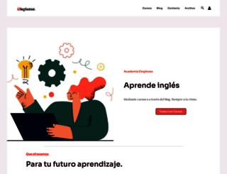 eingleses.com screenshot