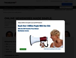 einnews.com screenshot